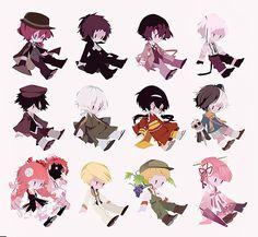 Stray Dogs Anime, Bongou Stray Dogs, Kawaii Potato, Detective, Hand Drawing Reference, Attack On Titan Fanart, Art Template, Amazing Cosplay, Anime Demon