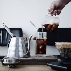 Fresh iced Hario V60 Coffee  | TAG your coffee friend! |  Hario Range Servers 360 & 600ml in stock  Hario Buono 1.2L & 1L in Stock  Hario Glass V60 in Stock  or   Hario Drip Scales W/ Timer in Stock Shop online at: @alternativebrewing link in bio  1-3 Day Shipping in Australia 7-10 Worldwide  by @55coffee by alternativebrewing