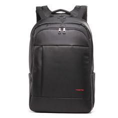 Amazon.com: Kopack Deluxe Black Waterproof Laptop backpack 14 15.6 17 Inch business trip computer daypack double laptop compartment: Computers & Accessories