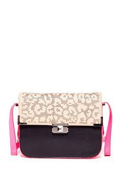 Cheetah Lazer Kiss Kiss Shoulder Bag by Rebecca Minkoff on @HauteLook