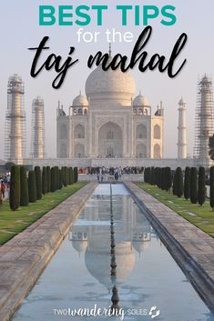 Top Tips for Visiting Taj Mahal Agra India Travel Guide - Calculating Infinity Agra, Travel Guides, Travel Tips, Travel Destinations, Budget Travel, Travel Hacks, Travel Packing, Travel Photos, India Travel Guide