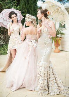 Marie Antoinette Wedding / Ninique Fashion Photography www.MadamPaloozaEmporium.com www.facebook.com/MadamPalooza