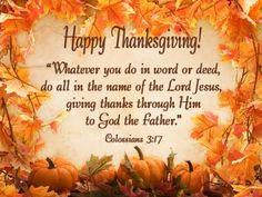 Christian Thanksgiving Background