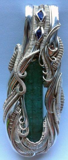 ©Chris Naples #wirewrap #jewelry #wirewrapjewelry