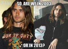 Jared Leto | | Vampire? Wizard? Time Lord? What is happening here...?