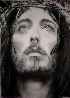Jesus of Nazareth Drawing custom Jesus Christ charcoal Portrait Christian Art Baptism gift Catholic Art, Religious Art, Image Jesus, Christian Art Gifts, Charcoal Portraits, Jesus Art, Portraits From Photos, Couple Drawings, Wedding Portraits
