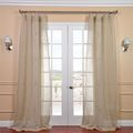 Linen Open Weave Natural 96-inch Sheer Curtain Panel | Overstock.com Shopping - The Best Deals on Sheer Curtains
