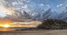 Sunset Beach by Cheryl Styles Sunset Beach, New South, South Wales, Cheryl, Landscape Art, Clouds, Photography, Outdoor, Style