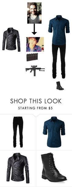 """""""Jay Harkness"""" by septicplier-mangle ❤ liked on Polyvore featuring AMIRI, LE3NO, Spyder, Wet Seal, men's fashion and menswear"""