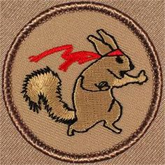 Ninja Squirrel Patrol Patch (#392)