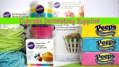 Cupcake Decorating Supplies, perfect for #PeepsTreats!