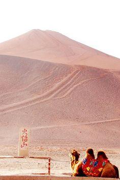 Flaming Mountain, Turpan, Xinjiang, China