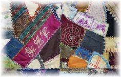 antique crazy quilt link http://www.fantaisiescrazybyevy.blogspot.com/
