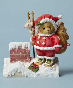 Look what I found on #zulily! Rooftop Toys Santa Figurine #zulilyfinds