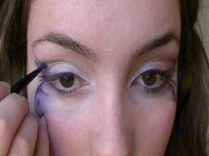 Butterfly Eyes makeup tutorial with Klaire deLysArt / maquillaje de ojos de Mariposa