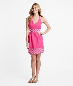 Buy Horsebit Lattice Embroidered Dress for Women | Vineyard Vines® Jen's Pick!