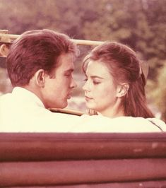 Warren Beatty and Natalie Wood in Splendor in the Grass