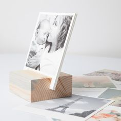 Premium Custom Photo Calendar | Wooden Photo Calendar