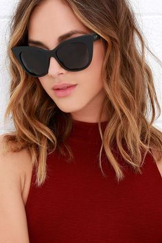 >>>Ray Ban Sunglasses OFF! >>>Visit>> Fun in the sun just got even better with the Quay Modern Love Black Sunglasses Cute Sunglasses, Cheap Ray Ban Sunglasses, Black Sunglasses, Oakley Sunglasses, Sunglasses Women, Summer Sunglasses, Trending Sunglasses, Sunnies, Mirrored Sunglasses