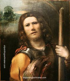 Dosso Dossi Saint George - Dosso Dossi, painting Authorized official website