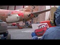 Painting 'The Adventure of Disneyland Resort' - Alaska Airlines Disneyland-themed Aircraft Alaska Airlines, Disneyland Resort, Steam Engine, Paint Schemes, Baby Strollers, Transportation, Aircraft, Product Launch, Adventure
