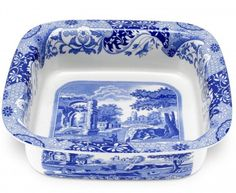Enter to win a Spode Blue Italian Square Dish from Portmeirion Group #Sweepstakes Ends 2/19.