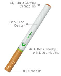 DISPOSABLE ELECTRONIC CIGARETTE : EverSmoke Disposable Electronic Cigarettes