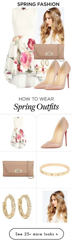 """""""Outfit #126"""" by pdfharry on Polyvore featuring ASOS, Christian Louboutin, Kate Spade and Jennifer Meyer Jewelry"""
