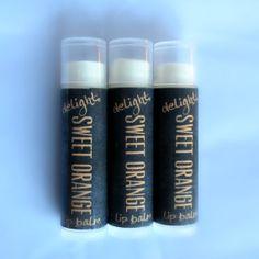 Sweet Orange Lip Balm by DelightBeauty on Etsy, $2.75
