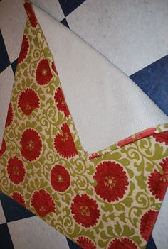 Sweetwater Style: Make A 1Hour Project-Throw Rug from Upholstery Fabric