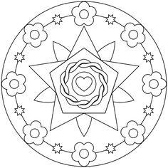 Mandala para imprimir 46 - La Guía de Mandalas