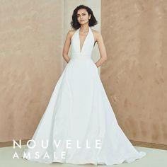 NOUVELLE AMSALE BRIDAL Dream Wedding Dresses, Designer Wedding Dresses, Couture Collection, Dress Collection, Amsale Bridal, Bride Look, Bridal Boutique, Bridal Style, Collections