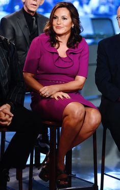 """Mariska Hargitay appears on NBC News' """"Today"""" show -- Celebrity Moms, Celebrity Photos, Celebrity Style, Alex And Olivia, Janes Mansfield, She Is Gorgeous, Beautiful Women, Olivia Benson, Lingerie Photos"""