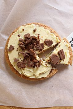 Cookie Cake Pie, Single Layer Cakes, Pudding Desserts, Fika, I Love Food, Camembert Cheese, Starbucks, Nom Nom, Goodies