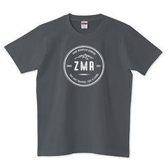 ZMR white   デザインTシャツ通販 T-SHIRTS TRINITY(Tシャツトリニティ)