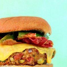 Tex-Mex Pinto Bean Burgers