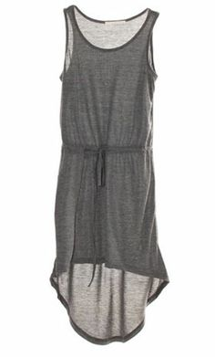 Grey Dress..great swimsuit coverup
