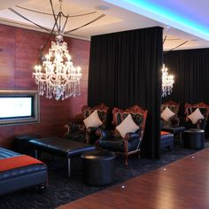 Protea Hotel Fire & Ice! Chandelier Lounge Fire And Ice, Cape Town, Chandelier, Lounge, Meet, Curtains, Home Decor, Airport Lounge, Candelabra