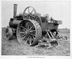 Steam Tractor, Gas Turbine, Steam Engine, Farming, Engineering, Electric, Trucks, Photos, Black