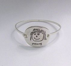 Your child's drawing bracelet for Mother's Day