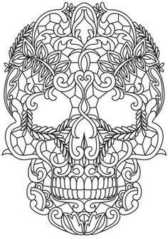 Image result for skull mandala