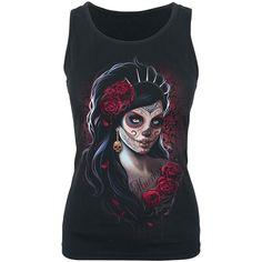 Día de los Muertos - Top Mujer por Spiral - Número Artículo: 265039 - desde 14,99 € - EMP tienda online de Camisetas, Merchandise, Rock, Hea...