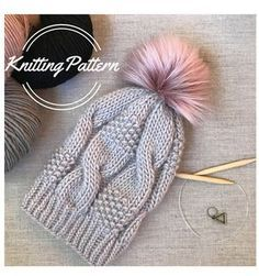 Knitting Pattern Kyria Hat Women's beanieGrab this FREE Cowl Knitting Pattern. This is a beginner knitting pattern which is knit flat and then seamed . Bonnet Crochet, Crochet Beanie Hat, Knitted Hats, Knit Crochet, Crochet Hats, Beanie Hats, Crochet Dolls, Knitting Designs, Knitting Patterns Free