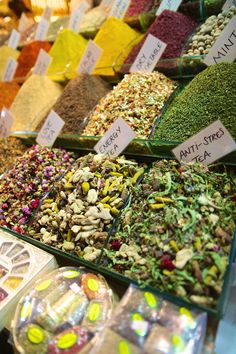 Check out Flores Spices and Herbs over by the Airline Farmer's Market for rock-bottom prices on Herbal Teas, Lavender, Ginger, flavored Salts, whole Peppercorns, Cinnamon, fresh Poppy seeds, Saffron, Bay Leaves, Whole Cloves, all sorts of spices and spice blends... My favorites are their hand-blended Apple Pie Spice, Pumpkin Pie Spice, and Fajita Spice blends. They weigh it out and send it with you in small plastic bags.  So cheap, and much fresher than the grocery store.