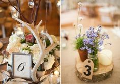 28 Woodland Wedding Table Numbers | HappyWedd.com