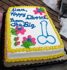 15 Hilarious Divorce Cakes (divorce cake, divorce cakes) - ODDEE