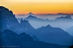 "500px / Photo ""The Julian Alps at sunset"" by Lizzie Shepherd"