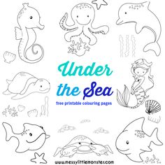 Under the Sea Coloring Page Fresh Under the Sea Colouring Pages Free Messy Little Monster Witch Coloring Pages, Nativity Coloring Pages, Superhero Coloring Pages, Puppy Coloring Pages, Paw Patrol Coloring Pages, Pumpkin Coloring Pages, Cat Coloring Page, Coloring Pages For Kids, Coloring Books
