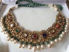 Royal Jewelry, India Jewelry, Gold Jewelry, Jewelery, Trendy Jewelry, Jewelry Sets, Jewelry Stores, Jewelry Accessories, Jewelry Patterns
