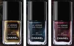 Chanel,LE Nuit de Russie Nail Colors, 2009 'Moscou' Moscow Collection